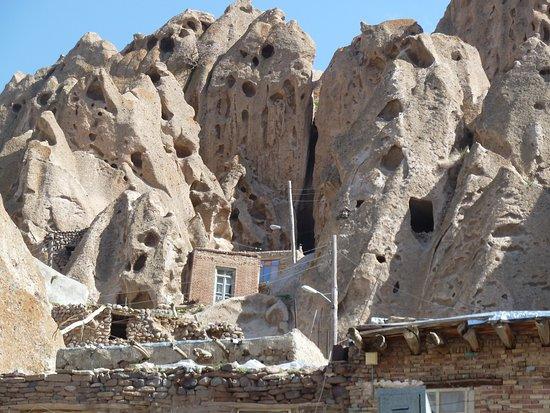 Kandovan, Iran: Behausungen