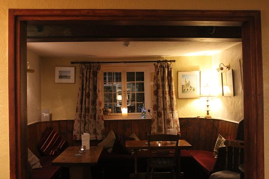 Ampleforth, UK: The Front Bar