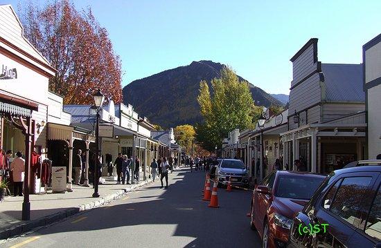 Arrowtown, Neuseeland: Old town scene
