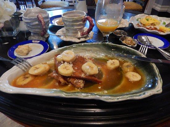 Darrow, LA: Petit déjeuner extra!