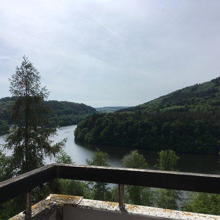 Biersdorf am See, ألمانيا: Herrlicher Ausblick über den See!