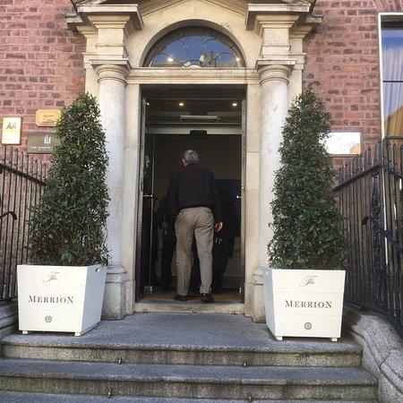 The Merrion Dublin Sculpture of James Joyce and Various