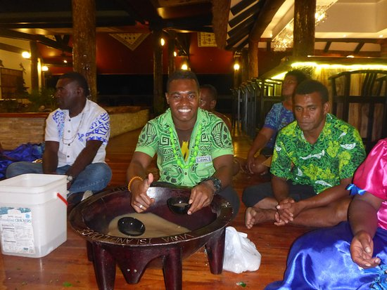 Yasawa Islands, Fiji: Kava night