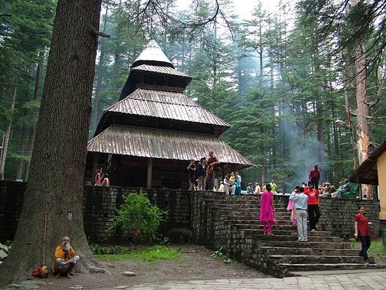 Manali, India: Hadimba Temple