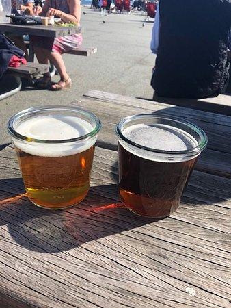 Toldboden: Bier in Weck Gläsern ;-)