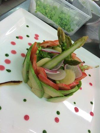Le Cellier, Frankrike: Assiette Végétarienne