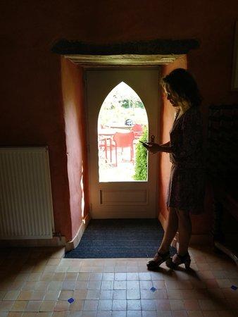 Kerbors, France : salle petit déjeuner