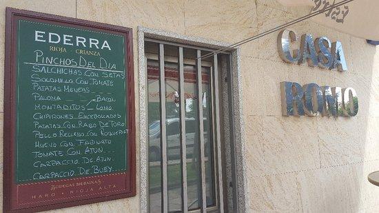 Santa Marta de Tormes, Espagne : Quien quería buenos pinchos ??