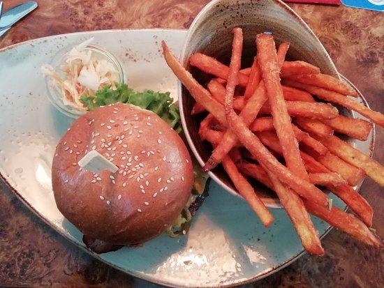 Marktoberdorf, Γερμανία: Tex-Mex-Burger