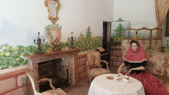 Esporles, Spanien: Una de las habitaciones con todos los detalles