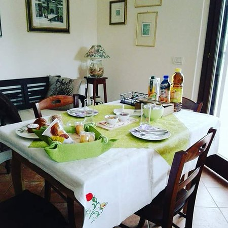 Cenerente, Italy: Breakfast