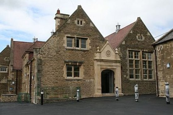 Corsham, UK: The outside of the old school now the arts centre