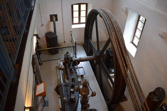 Ventron, Francia: La machine à vapeur.