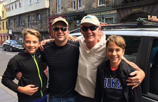 Bonnyrigg, UK: Edinburgh Fishing with David & Family from Texas
