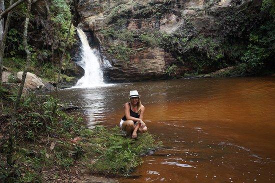 Bom Jardim de Minas, MG: Cachoeira do Remanso no Parque Municipal do Taboão - Bom Jardim de Minas