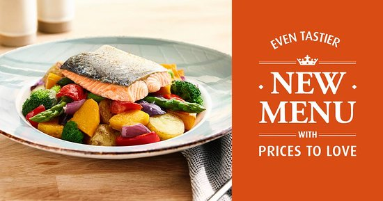 Long Eaton, UK: Our SPRING/SUMMER menu is available now!