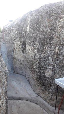 Outjo, Namibia: doccia esterna senza tetto