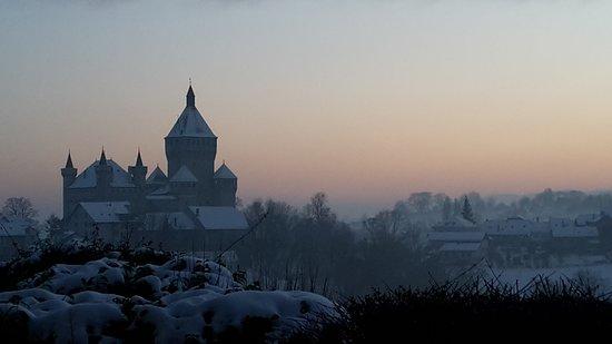 Vufflens-le-Château, Ελβετία: Vu depuis la partie nord