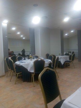Hotel Isabel de Segura: Restaurante.