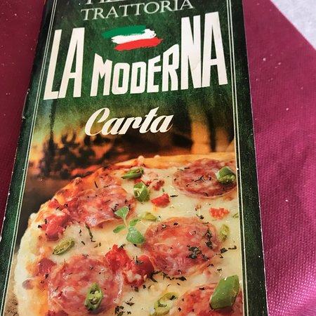 Bilde fra Pizzeria La Moderna