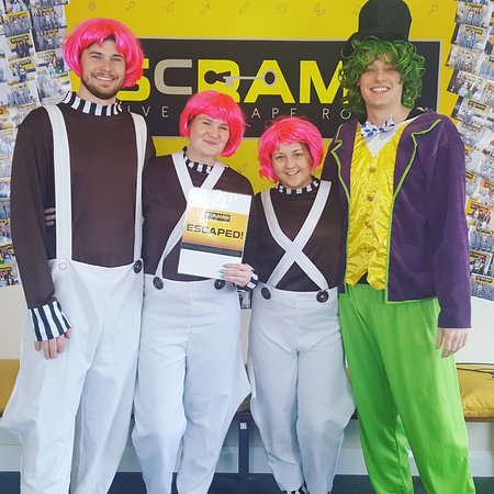 Scramm Live Escape Rooms