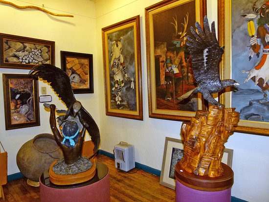 Coaldale, CO: Paintings and Sculpture by Robert L. Parker resident artist.