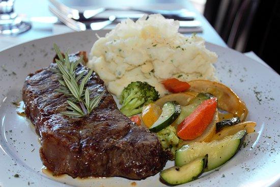 Madi's: New York Steak was great!