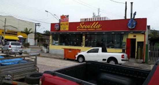 Restaurante Sevilla - NÃO INDICADO