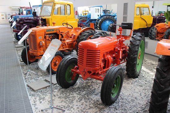 Scientific and Technical Museum of History of A Tractor