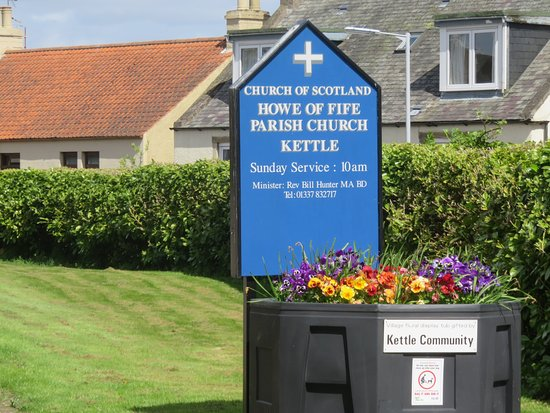 Kingskettle, UK: sign