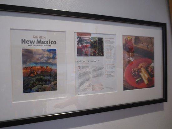 Rancho de Chimayo Restaurante: History