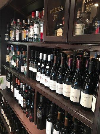 Sunninghill, UK: plenty of wine to pick from.