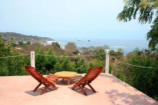 Mazunte, Messico: Ocean views from the terrace