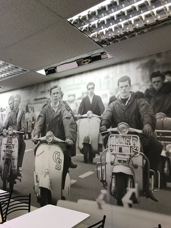 Back To The 60s Cafe: Mods on the road