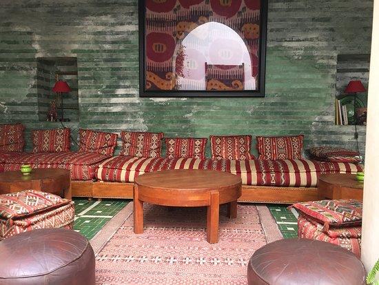 Riad Vert Marrakech: lounge area