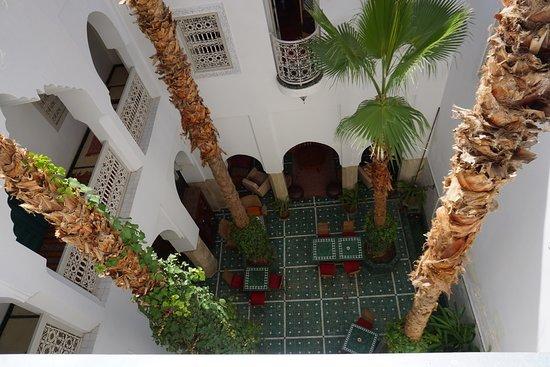 Riad Vert Marrakech: bird's-eye view