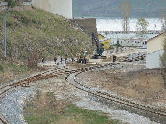 Tatvan, Turcja: Neubau Zugang Eisenbahnfähre