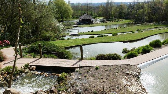 Jardins des Martels : Waterways