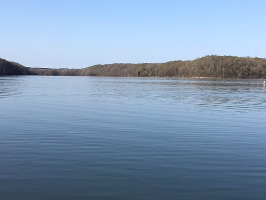 Hardin, KY: A view of Kentucky Lake not far from the marina.