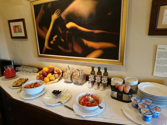 Locanda Viani: Tasty breakfast