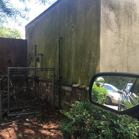 De Funiak Springs, FL: The back of the restaurant needs some attention.