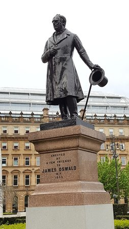 James Oswald Statue