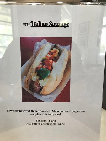Barberton, OH: Italian Sausage Sandwich