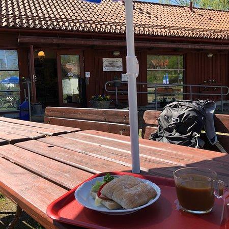 Hallstahammar, Σουηδία: Skantzen Kanalcafé