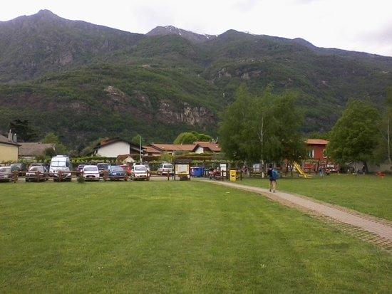 Parco Avventura La Turna: Il parcheggio visto da dentro