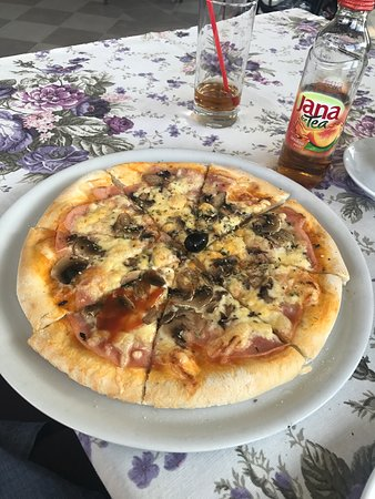 Slatine, โครเอเชีย: You have to try, best pizza on Island Ciovo