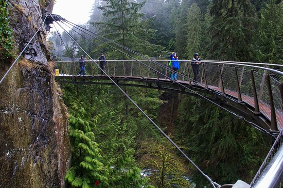North Vancouver, Canadá: the canyon edge walk