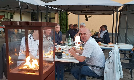 Stadtkyll, Tyskland: Für Wärme ist gesorgt