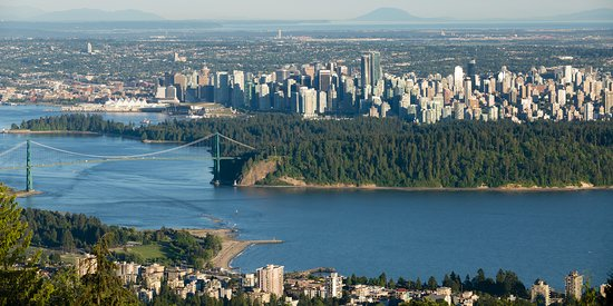 North Vancouver, Canada: Views from our tours.