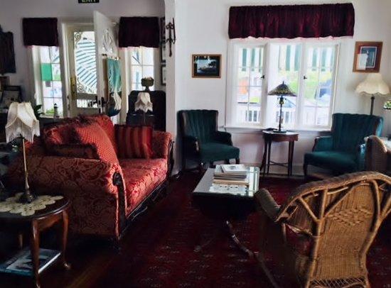 Sea Girt, Nueva Jersey: Beacon House living room